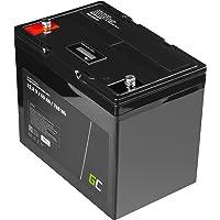 Green Cell® LiFePO4 Accu (60Ah 12.8V 768Wh) lithium-ijzerfosfaat batterij 12V fotovoltaïsche installatie BMS voor camper…