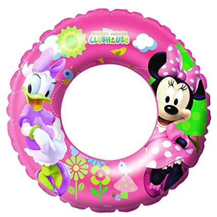 "Amazon.com: Disney Minnie Mouse 22"" (56 cm) Swim Ring ..."