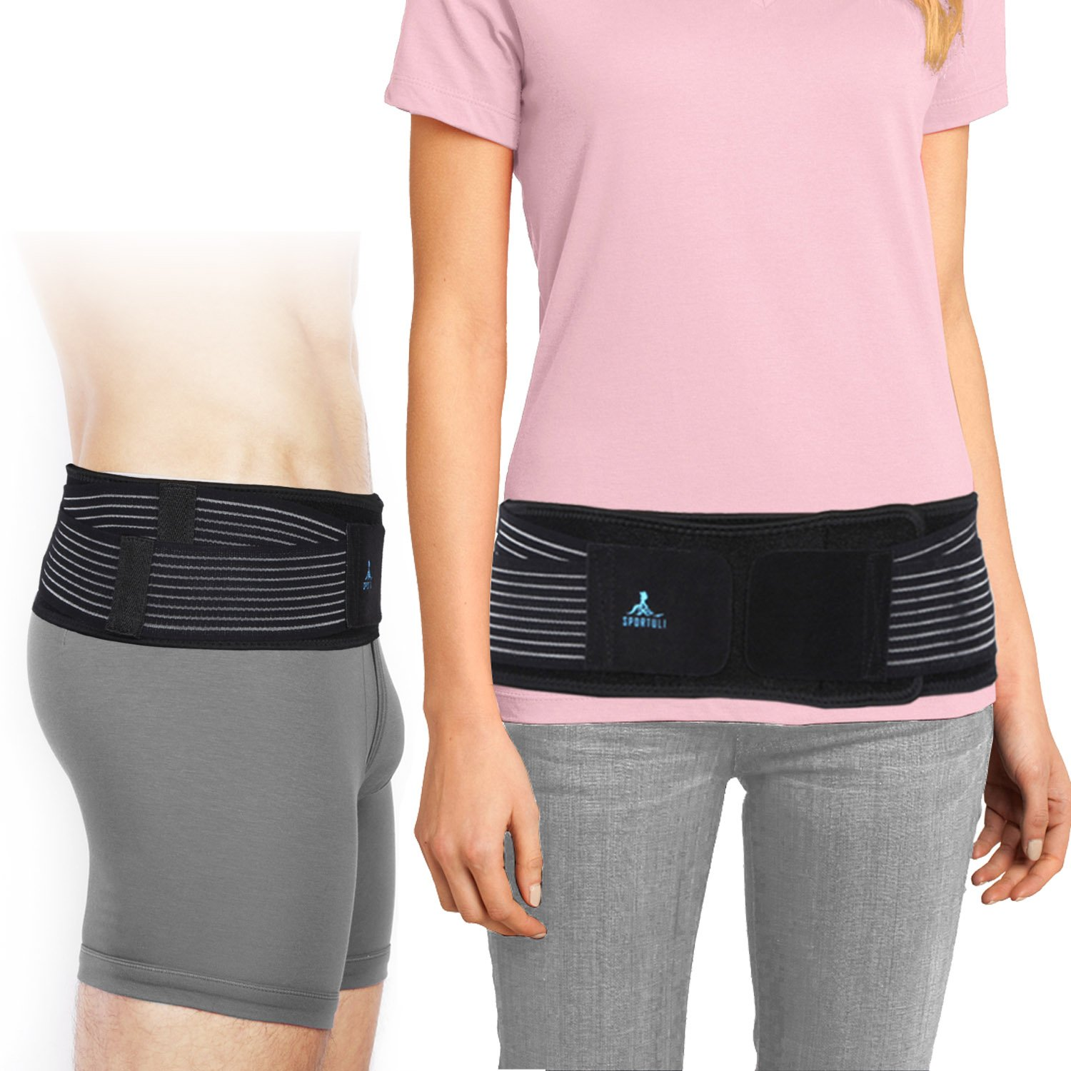 SI Belt for Women and Men- Sacroiliac Belt for SI Joint Pain Relief, Adjustable SI Joint Belt for Low Back Support Hip and Sciatica Pain, Diamond-Shaped Pressure Provides Compression and Stability