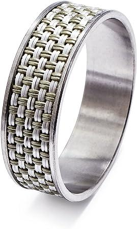 Set of 4 Natural Fennco Styles Woven Sea Grass Design Napkin Ring