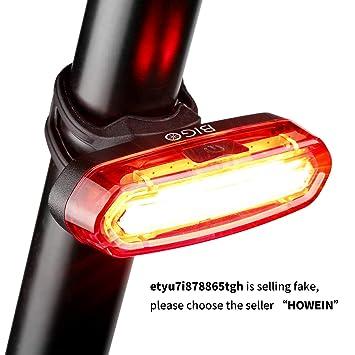 52e2b461a0e68 Luz Trasera para Bicicleta Recargable USB