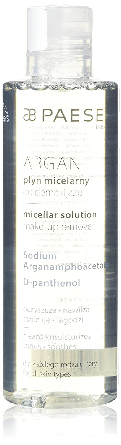 Paese Cosmetics Argan Micellar Solution Make-up Remover 210 ml Care005