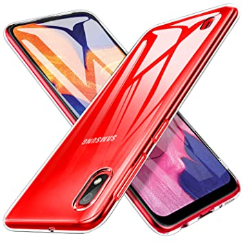 iBetter para Funda Samsung Galaxy A10 Funda, TPU con Superficie Mate Silicona Fundas para Samsung Galaxy A10 Smartphone.Transparente
