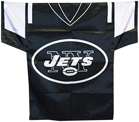 526750a5b11 Amazon.com   NFL New York Jets Jersey Banner (34-by-30-Inch 2-Sided ...