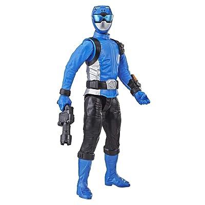 """Power Rangers Beast Morphers Blue Ranger 12"""" Action Figure: Toys & Games"""