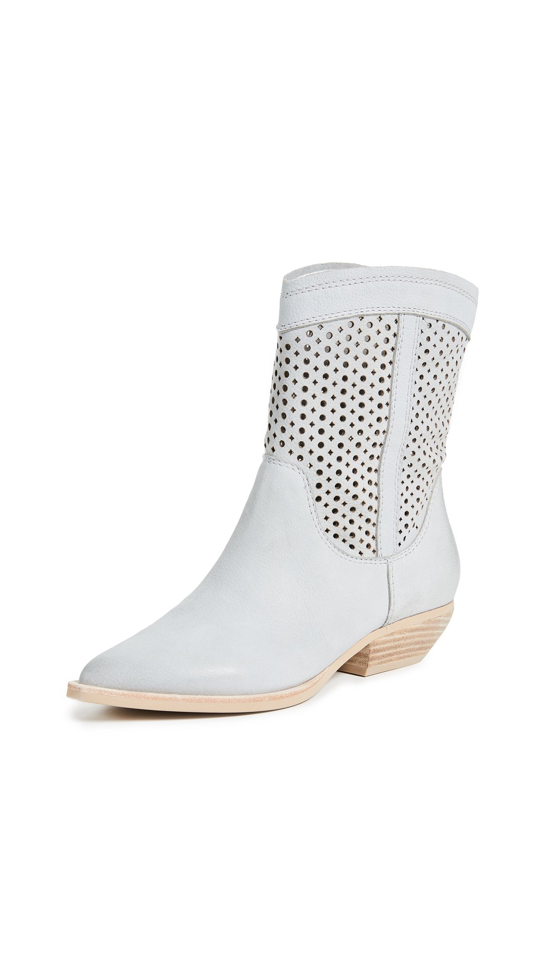 Dolce Vita Women's Union Fashion Boot, Ice Blue Nubuck, 8.5 M US