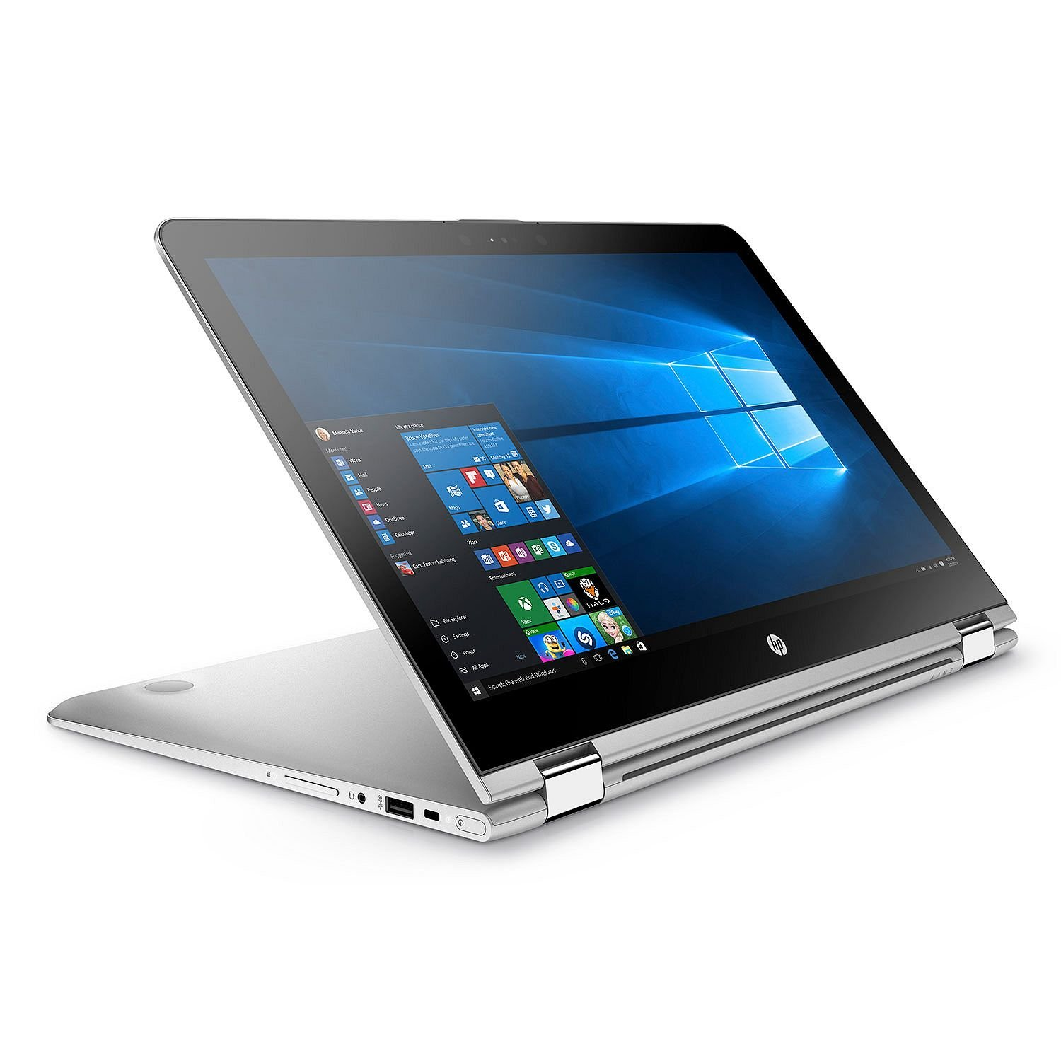 Newest Flagship HP Envy x360 15.6'' 2-in-1 Convertible Full HD IPS Touchscreen Business Laptop / Tablet - Intel Quad-Core i7-8550U up to 4GHz 16GB DDR4 1TB HDD Backlit Keyboard B&O Play Win 10