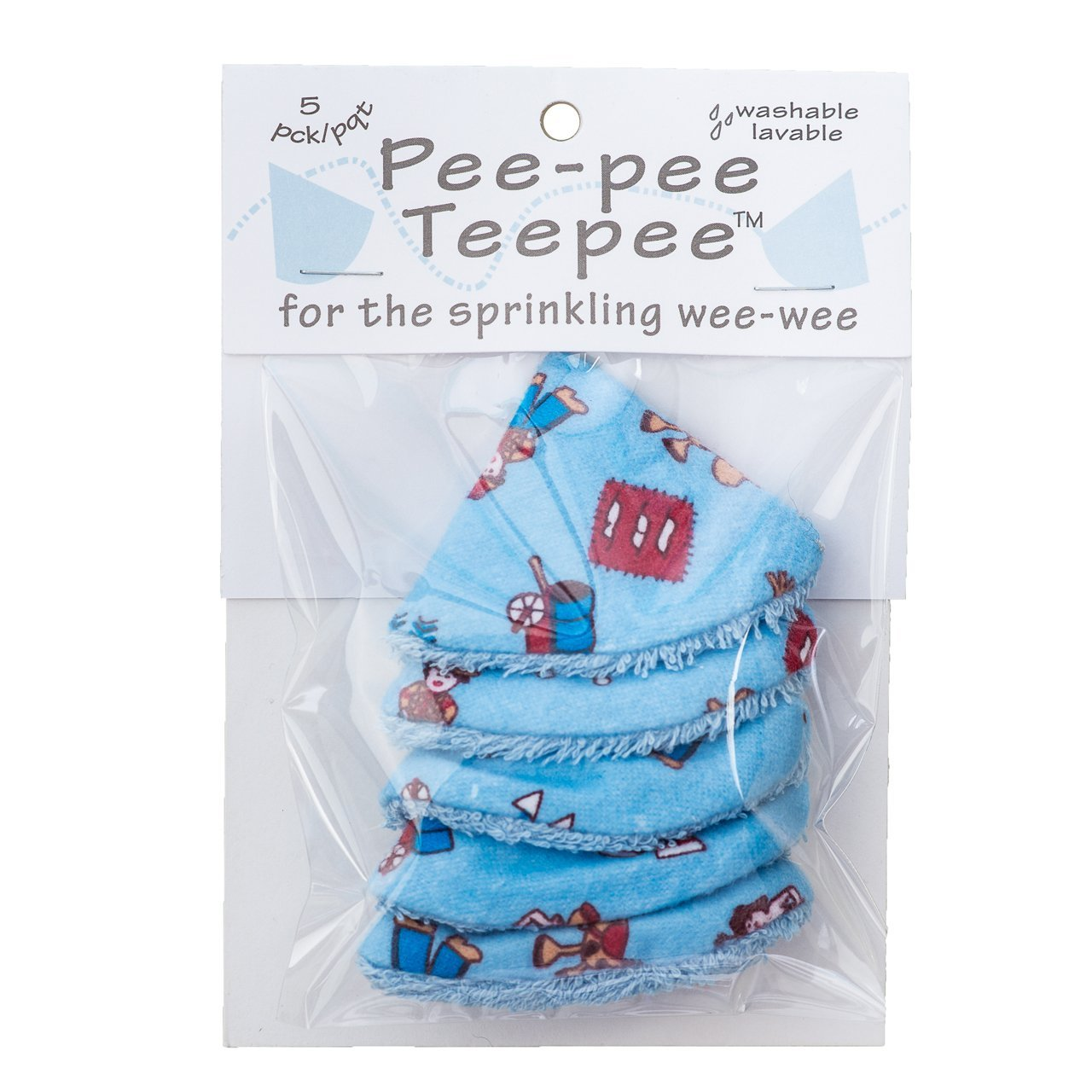 Pee-pee Teepee Wild West Blue - Cello Bag Beba Bean PT3051