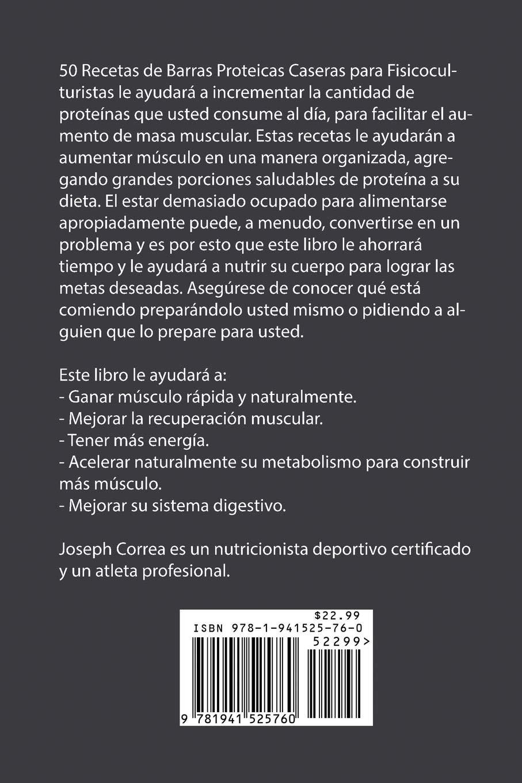 50 Recetas de Barras Proteicas Caseras para Fisicoculturistas ...