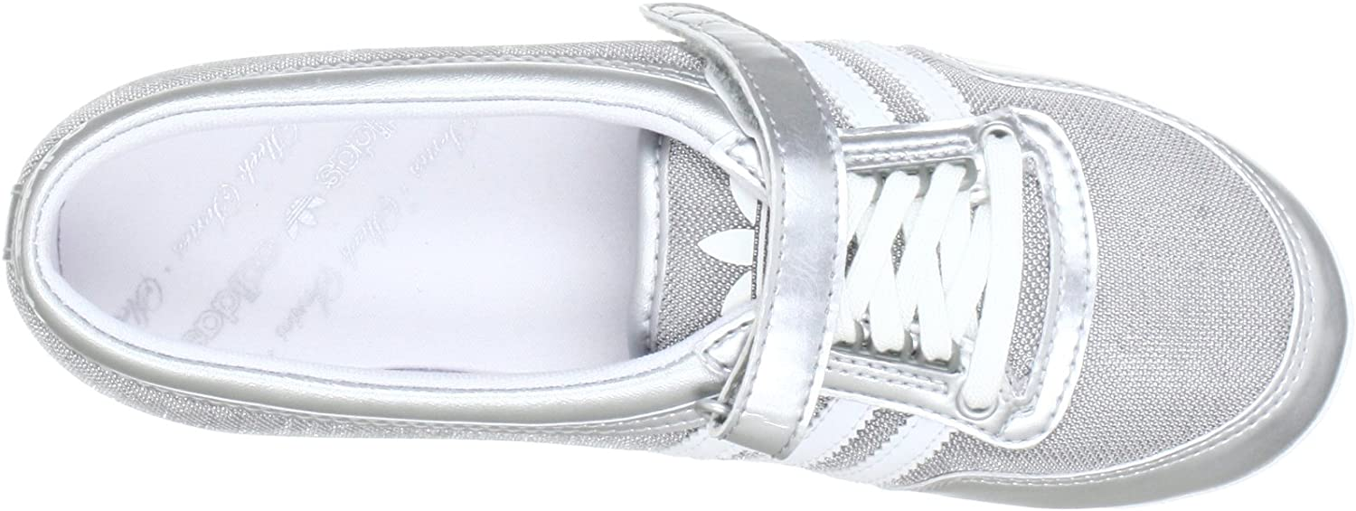 adidas Originals Concord Round W, Baskets mode femme, Argent (White Ftw), 36