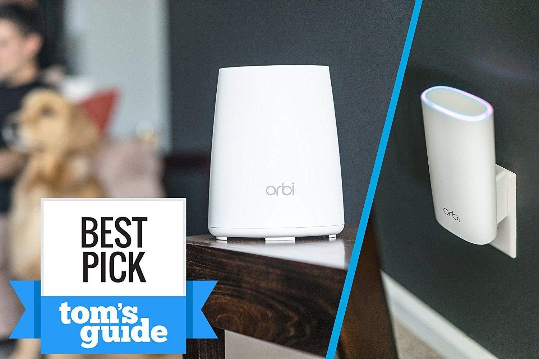 Amazon com: NETGEAR Orbi Wall-Plug Whole Home Mesh WiFi