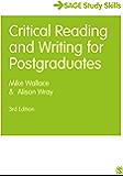 Critical Reading and Writing for Postgraduates (SAGE Study Skills Series)