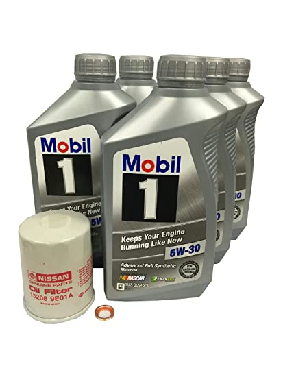 Mobil 1 Oil Change >> Mobil 1 5w 30 Full Synthetic Oil Change Kit 15208 9e01a