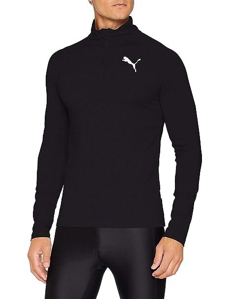 9468248c96fb Puma Men s Active Half Zip Sweatshirt  Amazon.co.uk  Sports   Outdoors