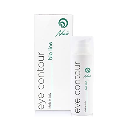 Nuvo Baba de Caracol Crema Contorno de ojos Efecto Anti-fatiga Hidratante Antiedad Antiarrugas Orgánica Certificada Maxi 30ml para Bolsas y ...