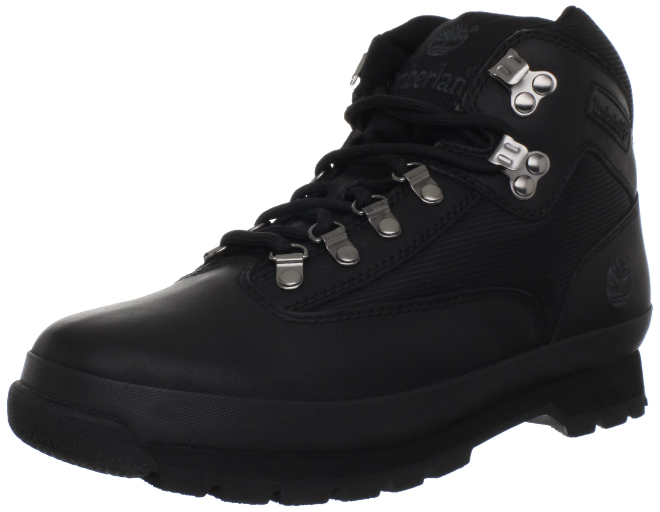 Timberland Men's Euro Boot,Black Smooth,10.5 M US by Timberland (Image #1)