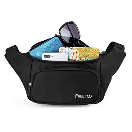 8afad9c4775 FREETOO Fashion Fanny Packs Waist Bag for Women Girls Kids, Fanny Pack  Lightweight for Travel Shopping Leisure Time