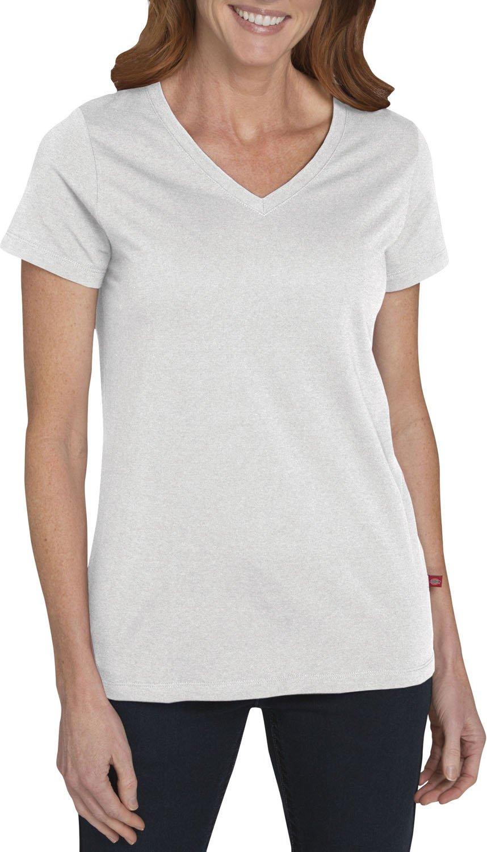 Dickies SHIRT レディース B01N3CGYON X-Large|Oplaque White Oplaque White X-Large