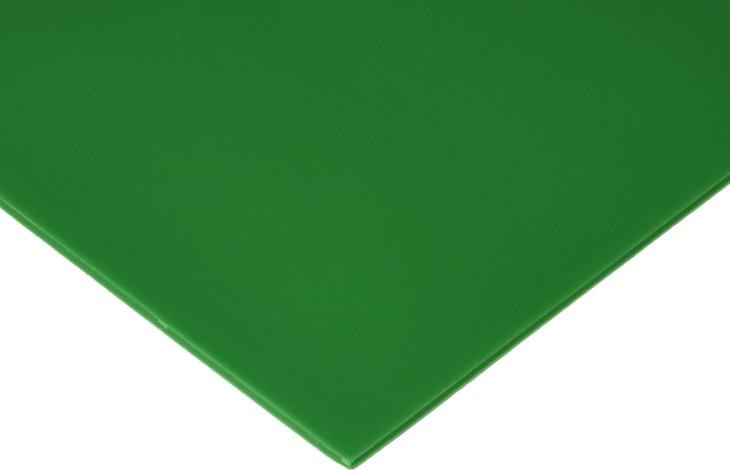 Polyshok Mouth Guard Material Sheet, Green, 5'' X 5'', 3mm Thickness, Pack of 12 by Buffalo Dental