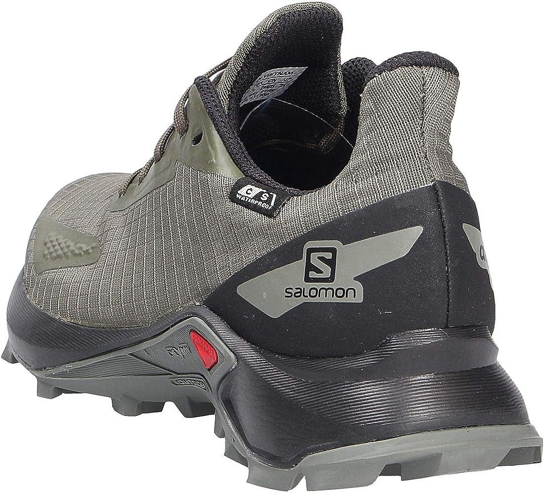 Salomon Unisex-Child Alphacross Blast J Trail Running Shoe