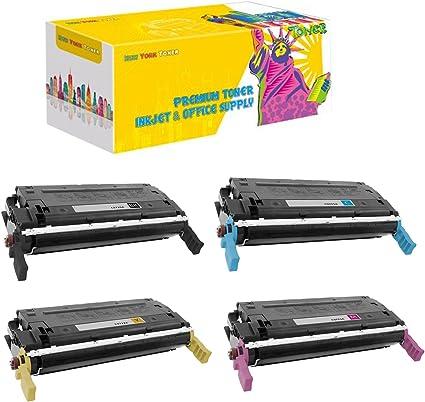 HP C9722A 641A LaserJet 4600 4650 Yellow Toner Cartridge Genuine OEM Original