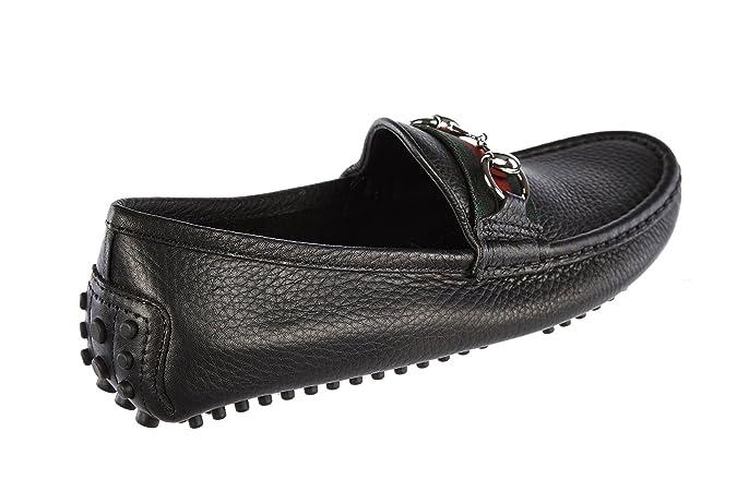 Gucci Mocasines en Piel Mujer Road Negro EU 39 265309 AHM101060: Amazon.es: Zapatos y complementos