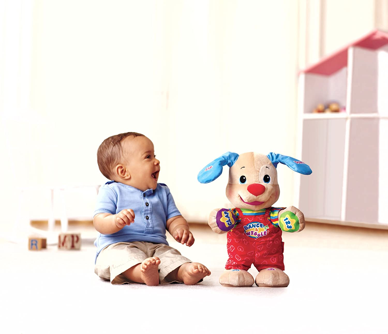 Amazon Fisher Price Laugh & Learn Dance And Play Puppy Toys