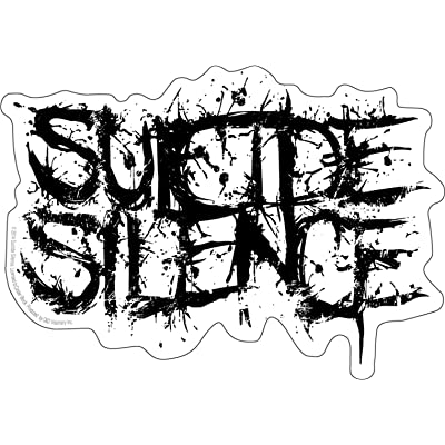 C&D Visionary Licenses Products Suicide Silence Logo Sticker: Toys & Games