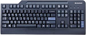 Genuine 54Y9400 Lenovo IBM Preferred Pro USB Wired Black Computer Work Home Office Keyboard (1 Pack)