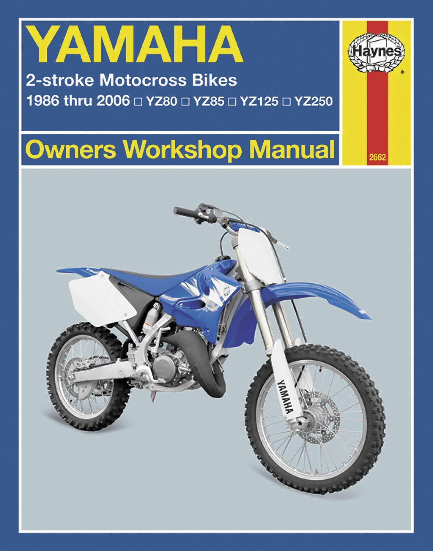 Haynes Manuals Manual Yam Yz/Wr 4/Str 98 08 M2689 New