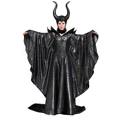 CosplayDiy Disfraz de Mujer de Maléfica Angelina Jolie Dark Witch ...