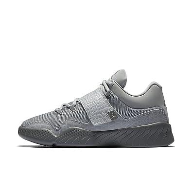 brand new 58c05 847d3 la jordanie j23 chaussures nike faible tissu en cuir noir noir noir et  monochrome 3872ec