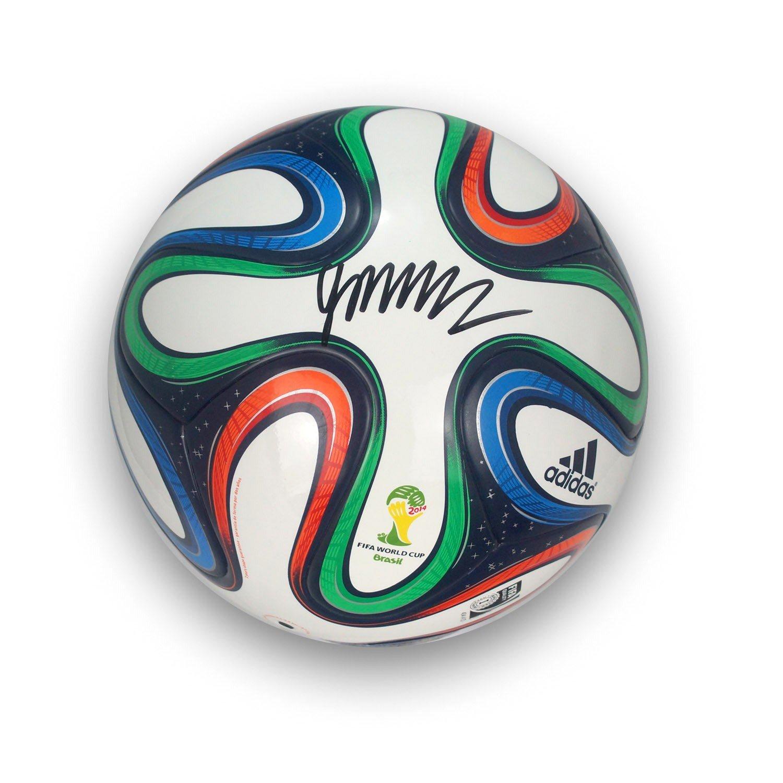 James Rodríguez Firmado Brazuca Copa del Mundo de Fútbol: Amazon ...