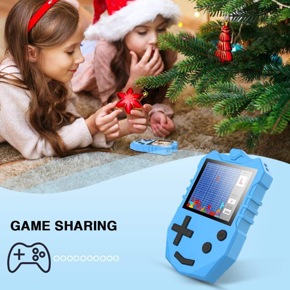 MP3 Player for Kids, AGPTEK K1 Portable 8GB Children Music Player with Built-in Speaker, FM Radio, Voice Recorder, Expandable Up to 128GB, Blue, Upgraded Version by AGPTEK (Image #3)