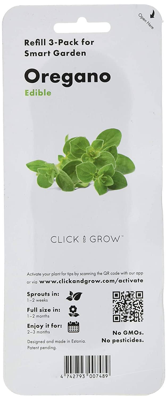 Click & Grow Recarga Triple de Origan para Smart Garden: Amazon.es ...