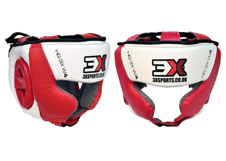 3X Professional Choice Boxeo Casco MMA Krav Maga Kickboxing Sparring Protector Entrenamiento Lucha Taekwondo ni/ños y ni/ñas CE Certificado Aprobado