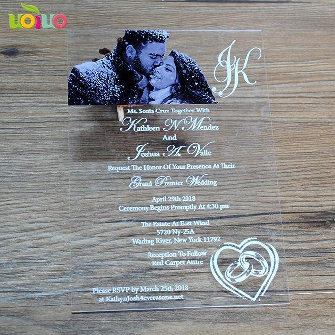 Tarjetas Y Invitaciones Personalizable 5 X 7 Pulgadas
