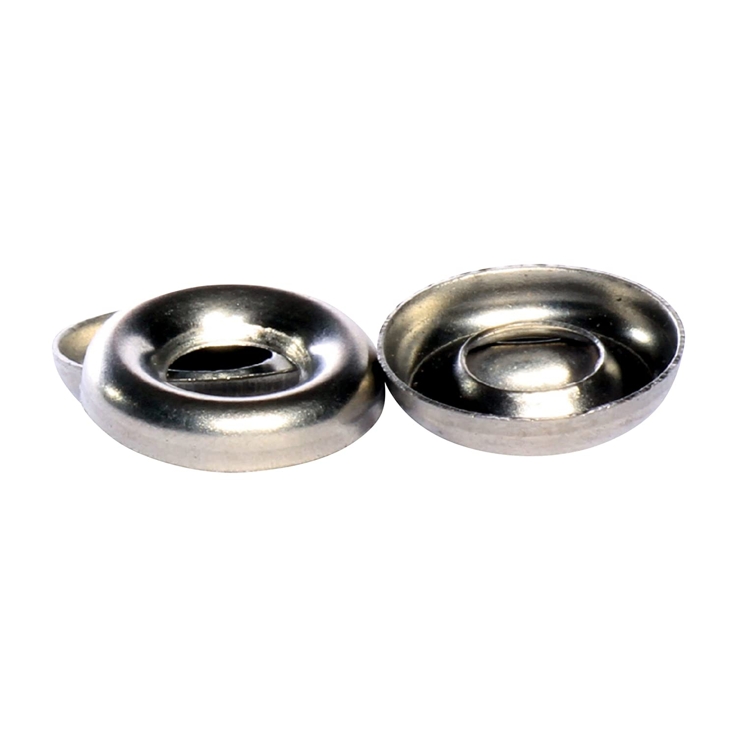 Bolt Base No 10 A2 Stainless Steel Cup Washers Countersunk screw Finishing Washer - 10 Pack