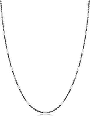 3.4 grams STRONG 1.25mm Thick STERLING SILVER 22 INCH CURB PENDANT CHAIN