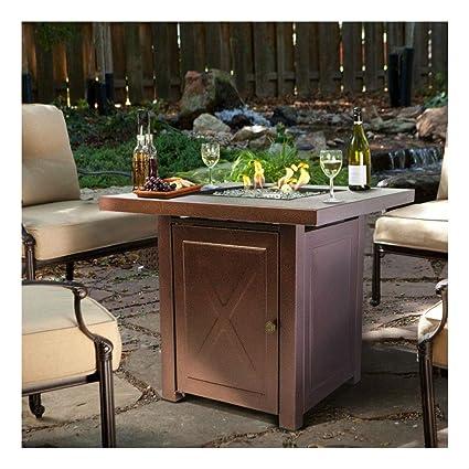 Amazon.com: Mueble de mesa para exteriores con bomberos ...