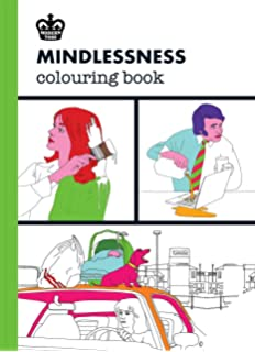Mindlessness Colouring Book Modern Toss Coloring Books