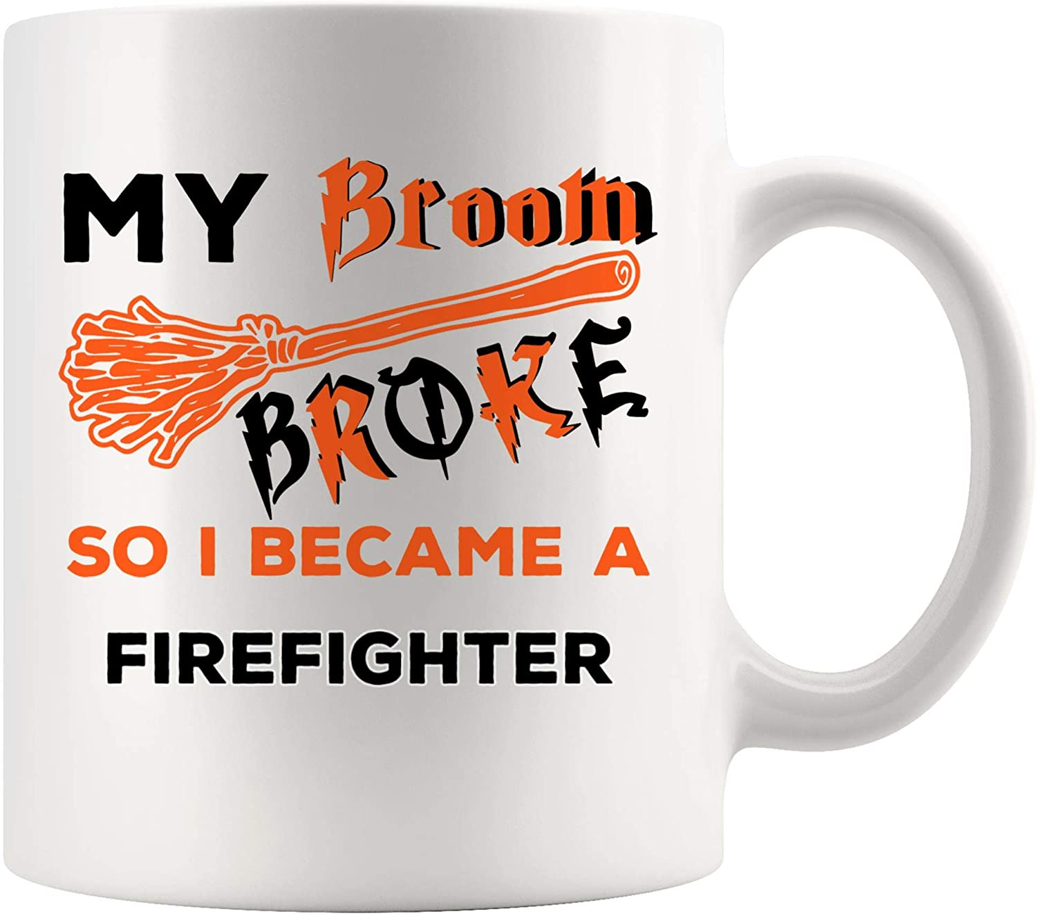 LIMITED EDITION. FIREMAN FIREFIGHTER PERSONALISED MUG