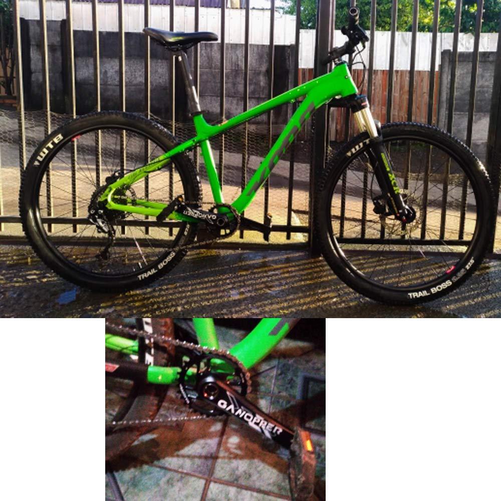 GANOPPER Single Speed Bike Kurbel 1x System 175 Rennrad Kurbelgarnitur Kettenrad Direktmontage Schmale Breite Kettenblatt F/ür SRAM GXP XX1 X9 XO X01 11S 11-Fach Kettenset