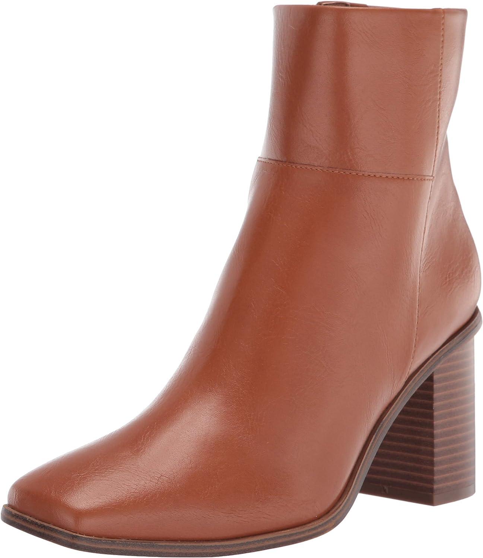 The Drop Women's Ibita High Safety and trust Boot Overseas parallel import regular item Side Heel Ankle Zip