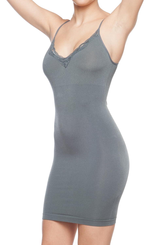 Body Beautiful Womens Lace Trim Ultra Comfort Shaper ROSC_958FS