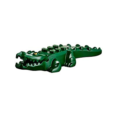 LEGO Minifigure Animal - Crocodile Alligator Green: Toys & Games