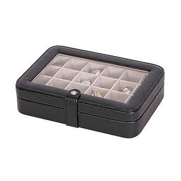 Amazoncom Mele Co Elaine Earring and Ring Holder Jewelry Box