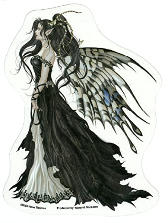Nene thomas black and white hope fairy sticker decal