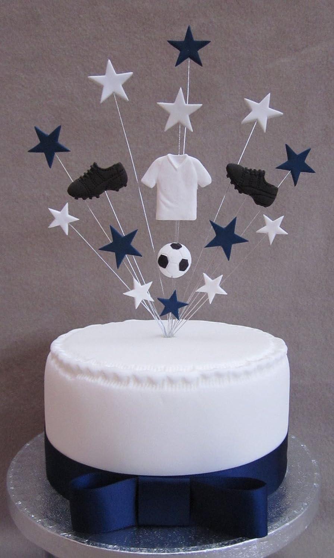 Tottenham Spurs Football Birthday Cake Topper Suitable For A 20cm