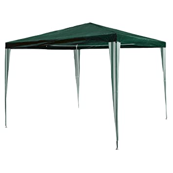 Garden pavilion 3 x 3 m, waterproof, with Pegs and Guy Ropes, Corner ...